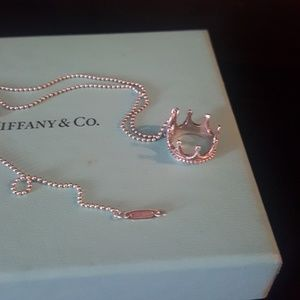 Tiffany & Co. Jewelry - Tiffany and co crown charm necklace
